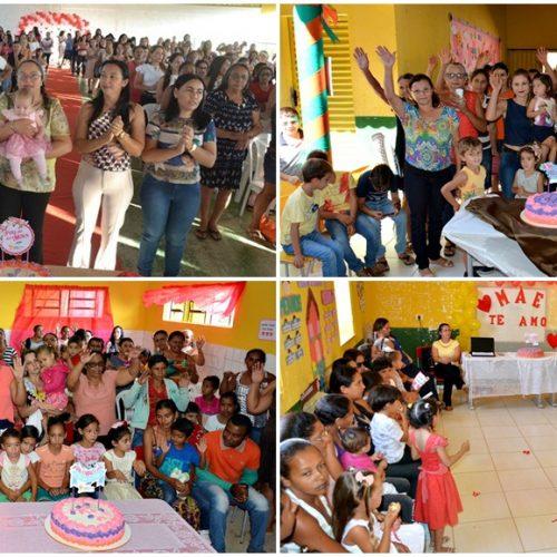 Mães do campo e da cidade são homenageadas pela Prefeitura de Caldeirão Grande do PI