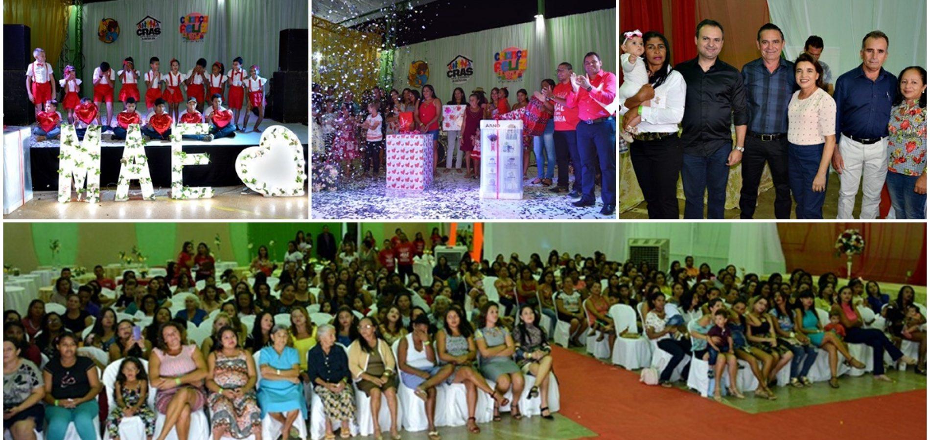 GEMINIANO   Assistência Social realiza festa em homenagem às mães; veja fotos