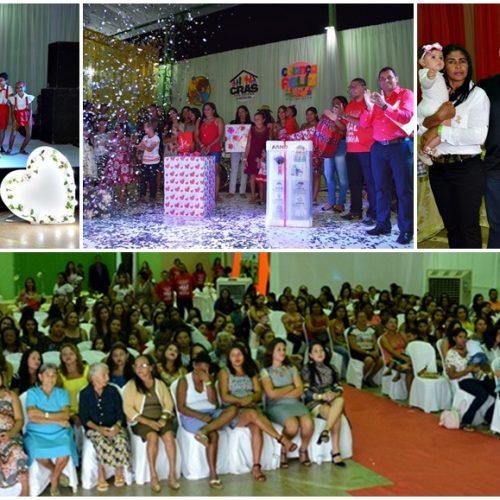 GEMINIANO | Assistência Social realiza festa em homenagem às mães; veja fotos