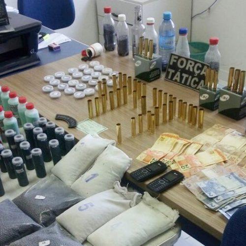Força Tática de Simplício Mendes prende fabricante de munições e apreende projéteis