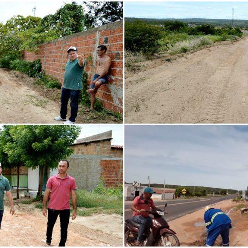 Em Vila Nova, Gestão de Edilson Brito realiza reabertura e limpeza de ruas da cidade