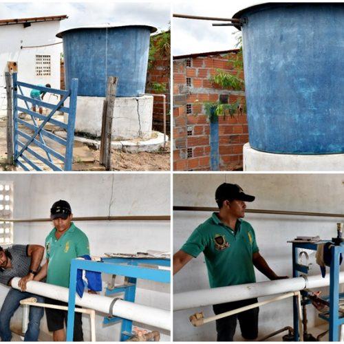 VILA NOVA | Prefeito recupera sistema que distribui água doce no povoado São João Batista