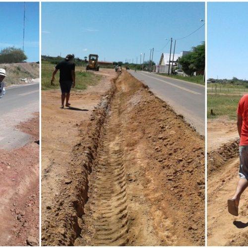 Prefeitura realiza obras de canalização e melhora o sistema de abastecimento de água em Alegrete do PI
