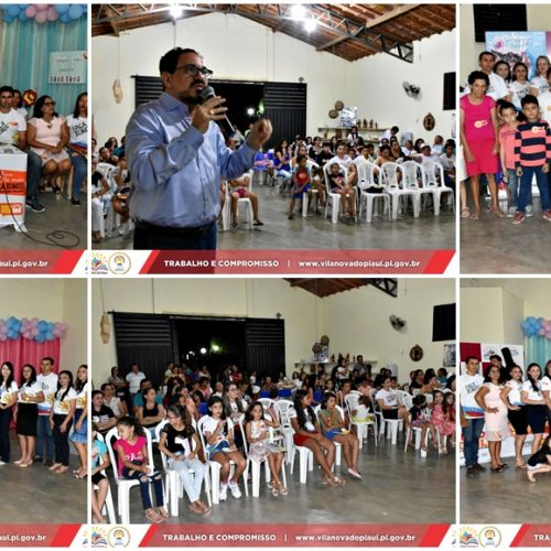 Diversas ações marcam Dia de Combate à Exploração de Crianças e Adolescentes em Vila Nova do Piauí