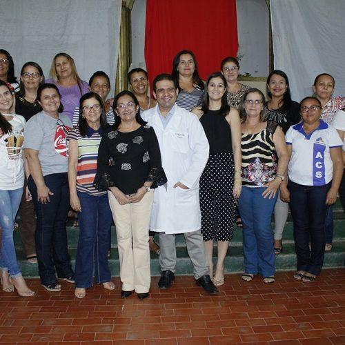 Secretaria de Saúde de Simões promove palestra e discute prevenção ao AVC
