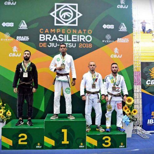 Picoense conquista brasileiro de Jiu-Jitsu em São Paulo