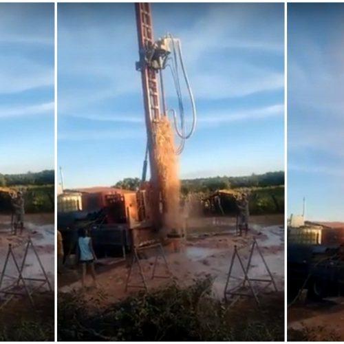 Prefeitura de Patos do PI perfura dois poços para ampliar o abastecimento de água na zona rural