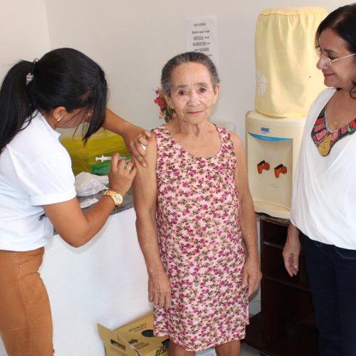 Secretaria de Saúde de Simões realiza Dia D de vacinação contra a gripe