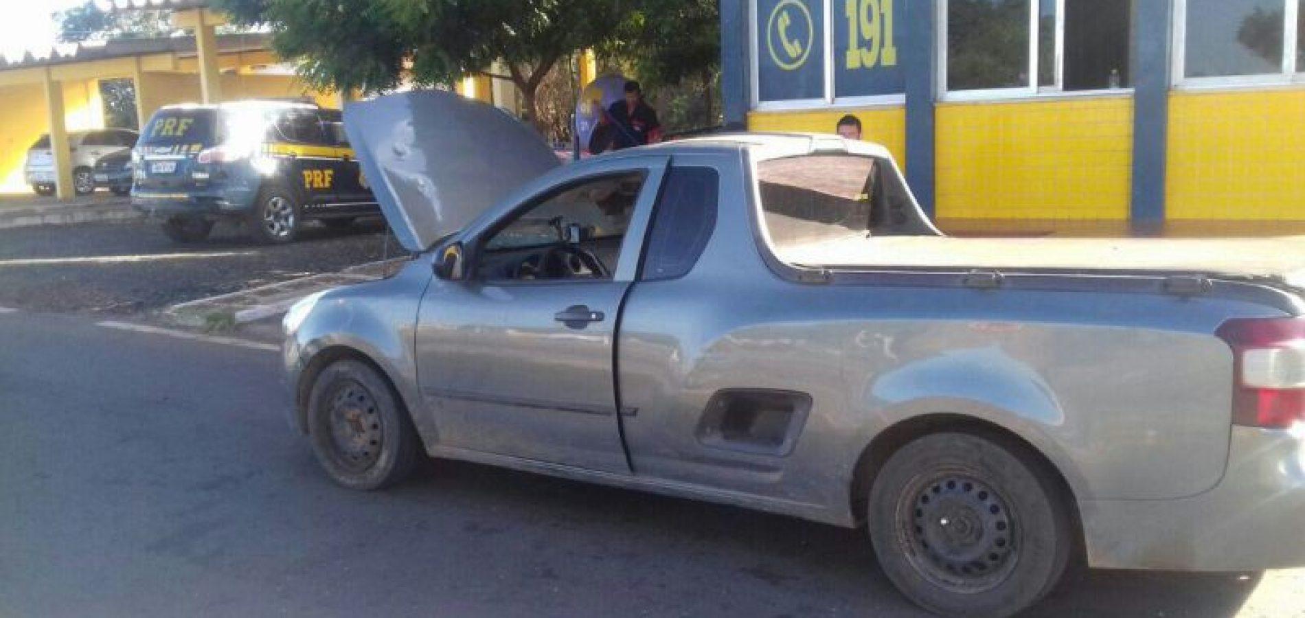 Em Picos, PRF recupera mais carro roubado