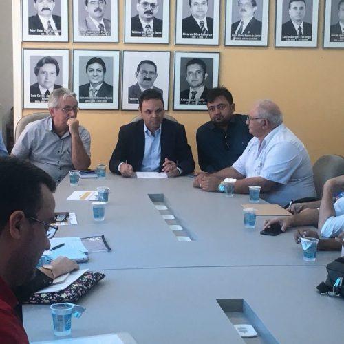Prefeito Márcio Alencar participa de reunião com órgãos na APPM