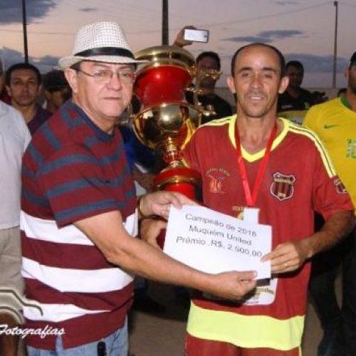 Equipe Muquém United é campeã do Campeonato de Futebol de Marcolândia