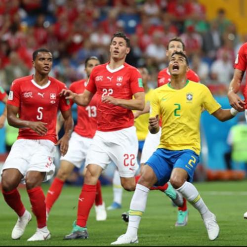 Seleção cai de rendimento, arbitragem falha e Brasil empata com a Suíça na estreia na Copa