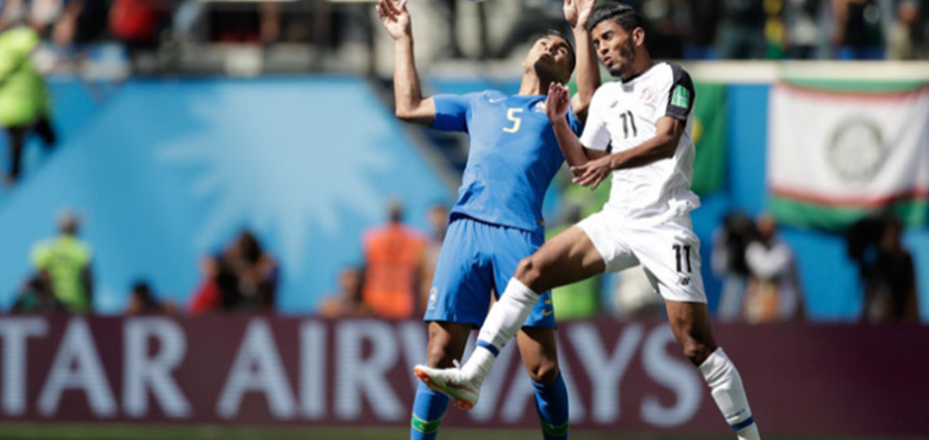 No sufoco, Brasil supera nervosismo e bate Costa Rica com gols nos acréscimos