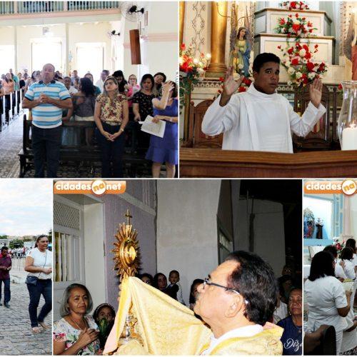 Paróquia de Jaicós celebra dia de Corpus Christi com missa e procissão
