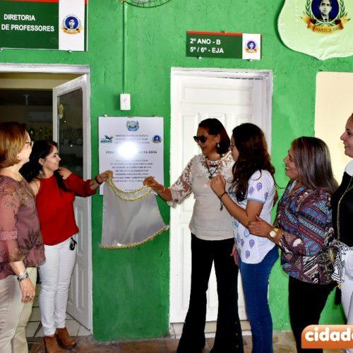 Educação de Fronteiras inaugura instalações de projeto de reaproveitamento de água na escola
