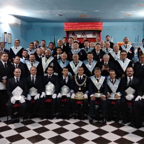 Loja Maçônica inicia sete novos membros em Jaicós