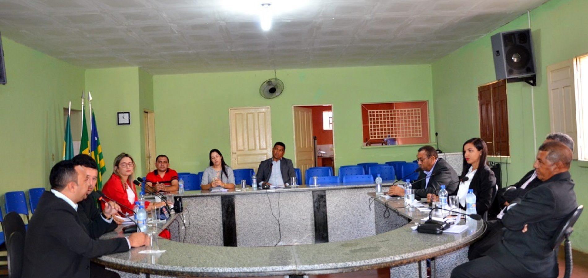 Dois Projetos são aprovados em sessão da Câmara de Patos do Piauí