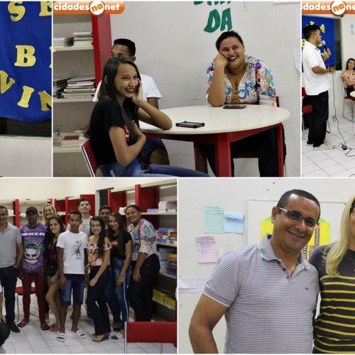 Cordelista ministra palestra para alunos do Pronatec em Padre Marcos