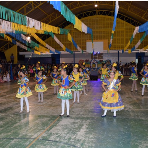 Assistência Social e Educação de Caldeirão Grande do Piauí promovem Festa Junina