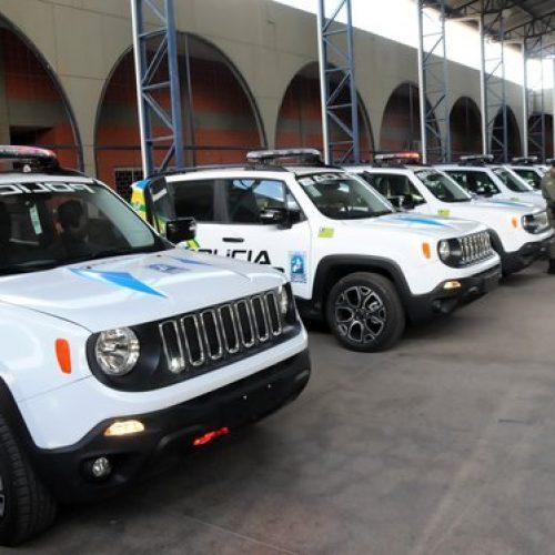 Dez municípios do Piauí recebem 22 viaturas para reforço na segurança pública