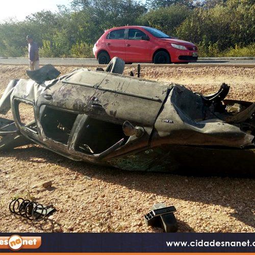 Grave acidente deixa duas pessoas mortas e duas feridas entre Jaicós e Belém. Veja!