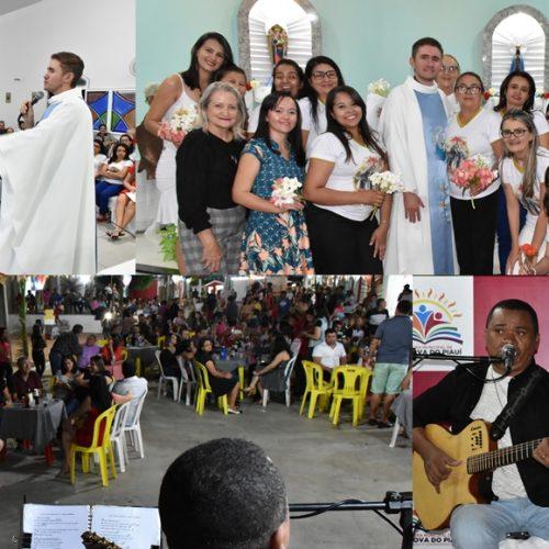 Em Vila Nova, última noite dos festejos de Santo Antônio é marcada por missa e festa dos namorados
