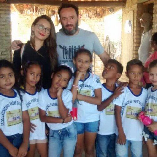 JAICÓS | Professora da escola Padre David promove aula de campo na Comunidade Várzea Queimada