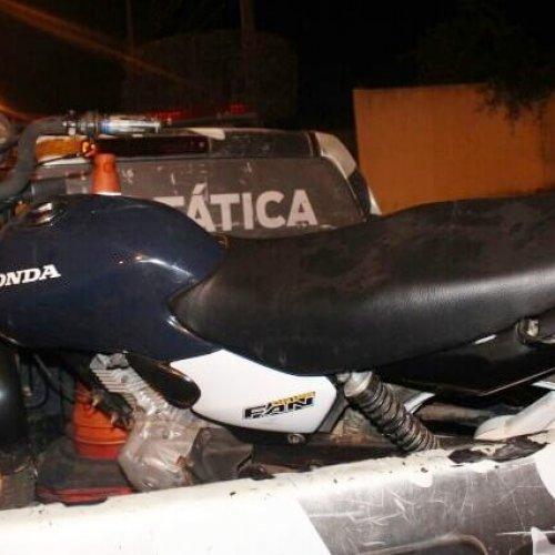Força Tática de Paulistana recupera moto furtada em Acauã