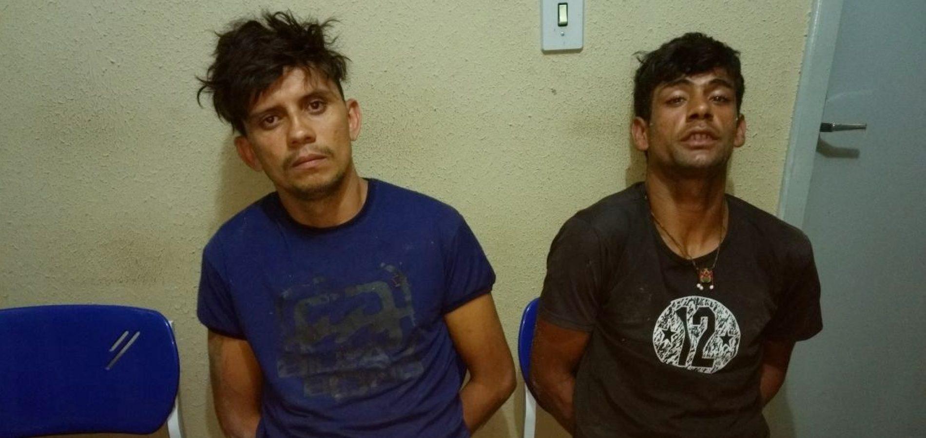 Bandidos são presos em flagrante ao arrombar casa em Picos