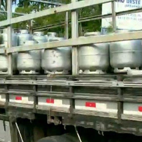 Caminhão de gás é roubado no Piauí e motorista é investigado