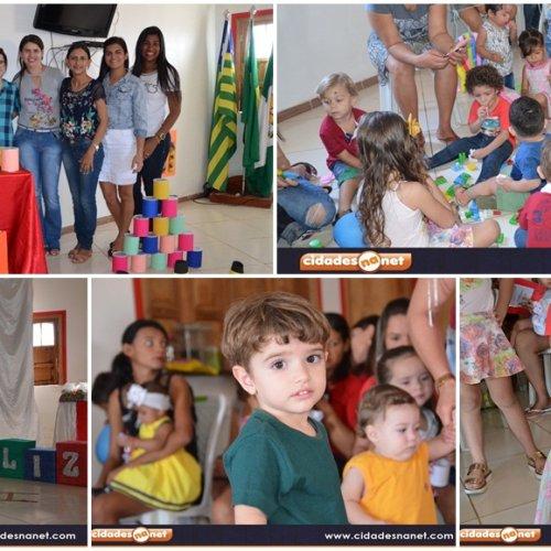 Programa Criança Feliz desenvolve atividades lúdicas para beneficiários em Jacobina do Piauí