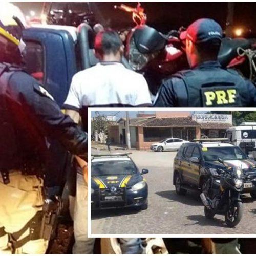 PRF apreende 60 motos e prende duas pessoas em operação nas cidades de Jaicós, Alegrete, Geminiano,  Fronteiras, Marcolândia e Picos