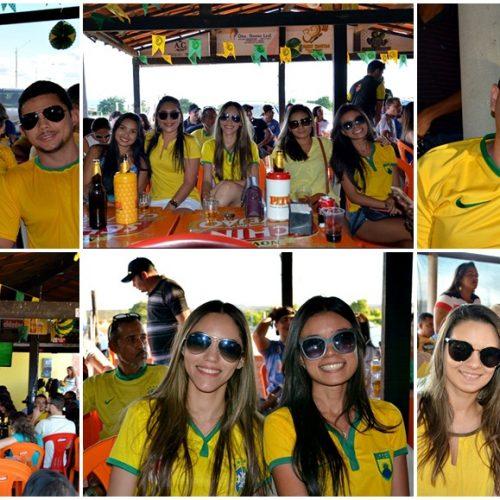 JAICÓS | Torcida lota o Restaurante 'Tem Tempero' para assistir estreia do Brasil na Copa; veja fotos