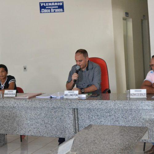 Câmara de Caridade do Piauí realiza sessão e plenário vota três projetos de lei