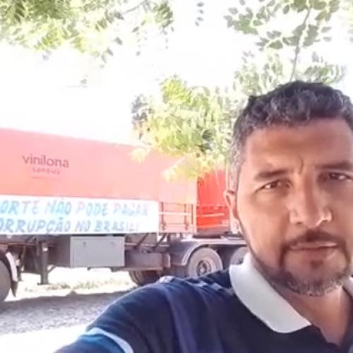 """Porta-voz dos caminhoneiros nega grande paralisação em Teresina: """"Fake News"""""""