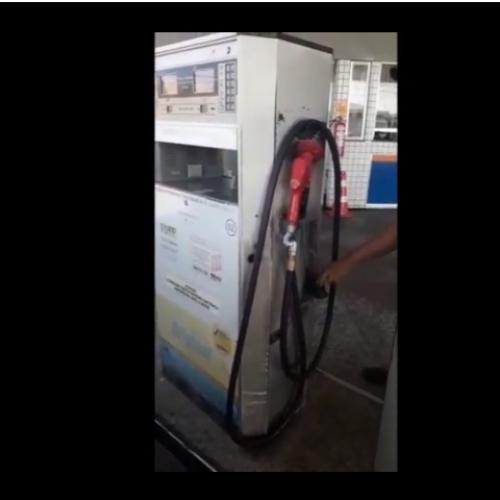 Consumidor flagra suposta fraude em bomba de combustível no PI; vídeo