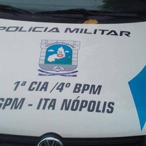 Dupla é presa em Itainópolis por furto e receptação