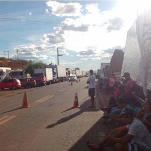 PRF de Picos desmente possibilidade de nova greve dos caminhoneiros