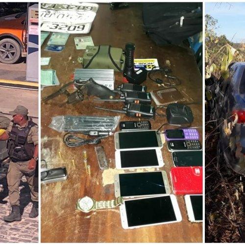 Cinco suspeitos do assalto ao carro forte em Jaicós são presos e fugitivos podem estar baleados