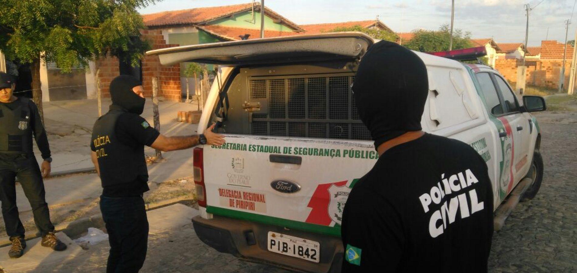 17 pessoas são presas durante operação da Polícia Civil no interior do Piauí