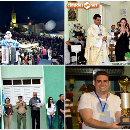 Ato cívico, missa e shows de forró marcam 2° dia de comemorações aos 83 anos de Fronteiras; veja fotos