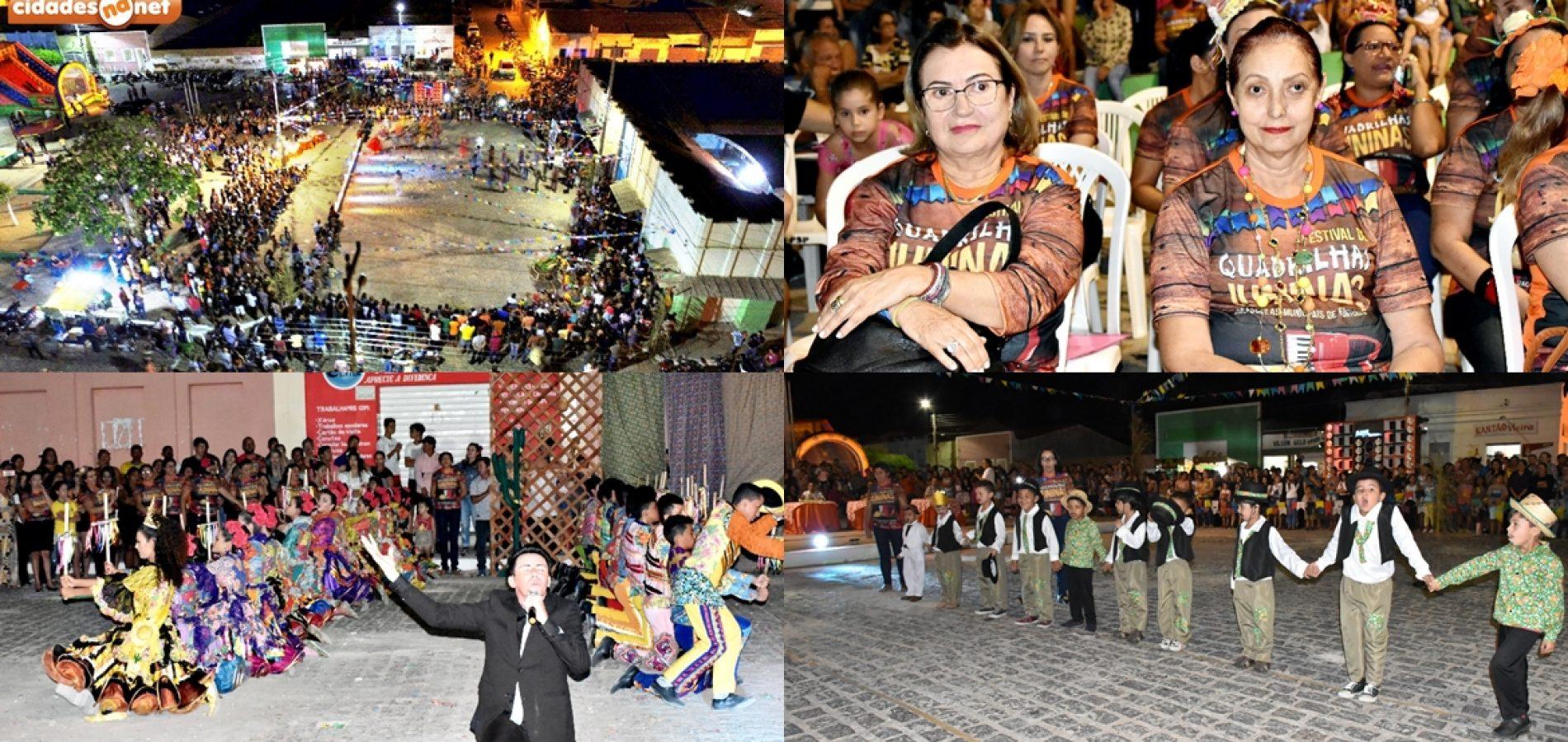 FRONTEIRAS | Secretaria de educação promove festival de quadrilhas das escolas municipais