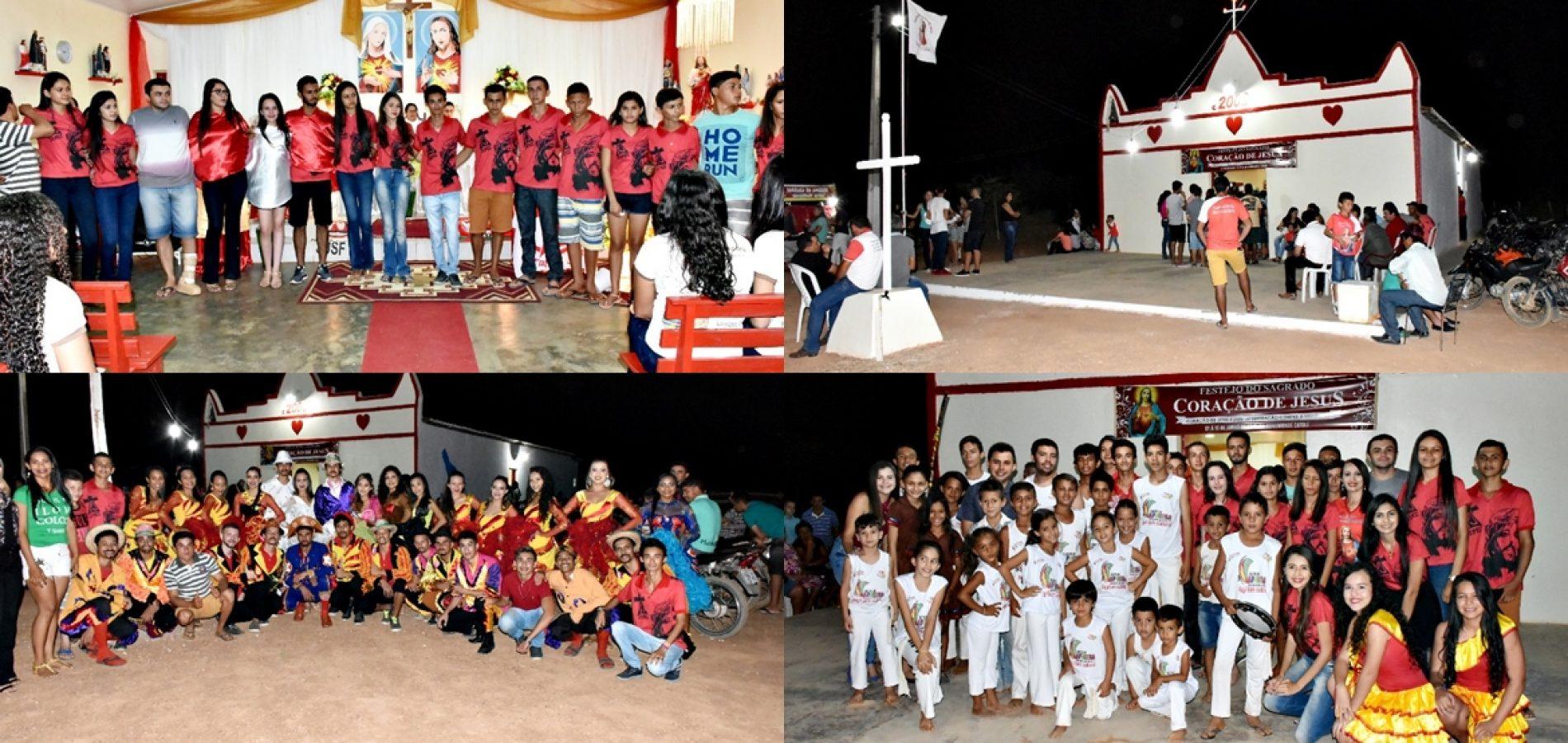 ALEGRETE | Novena e apresentações culturais marcam noite da Juventude nos festejos de Catolé