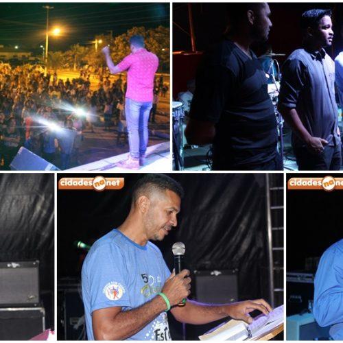 Show com a Banda Shalom encerra programação do Dia do Evangélico em Jaicós