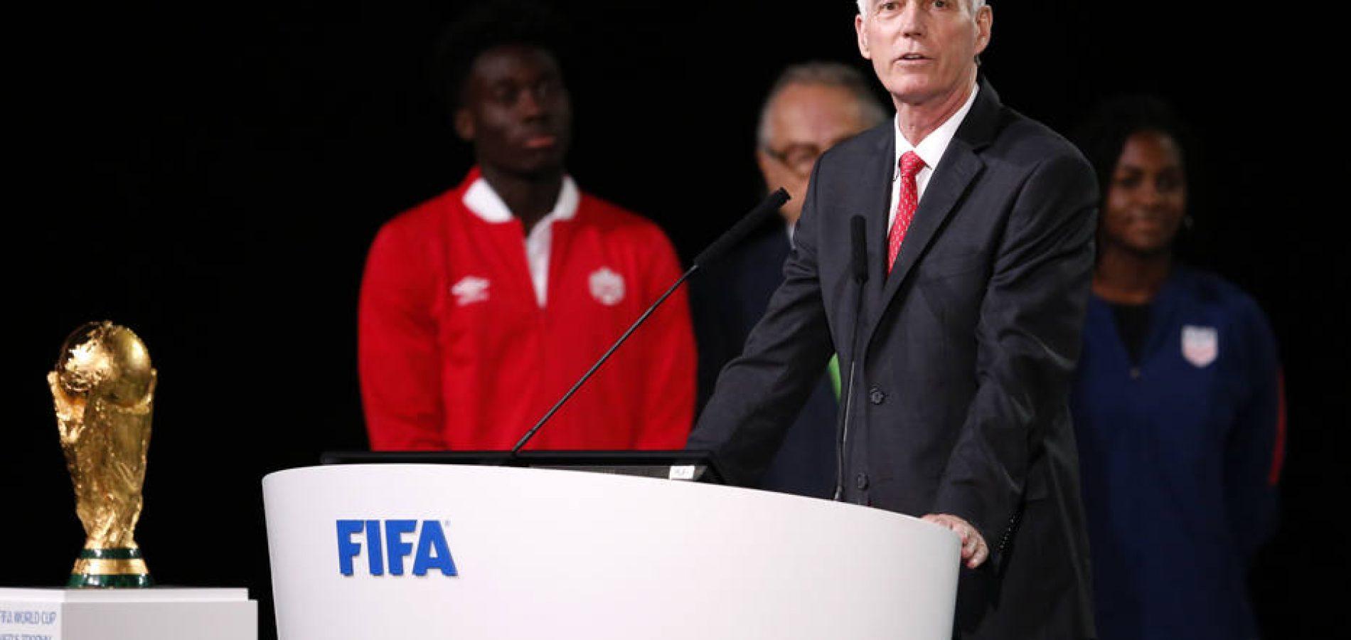 Copa do Mundo será realizada em três países em 2026