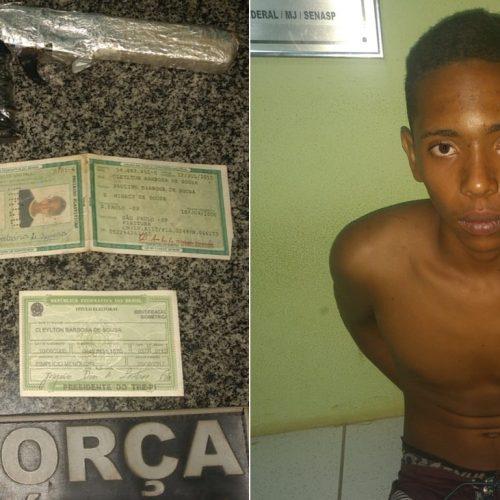 PM prende acusado de realizar assaltos em Simplício Mendes