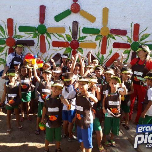 Geminiano: Projeto Horta Escolar incentiva o consumo de alimentos saudáveis e educação ambiental