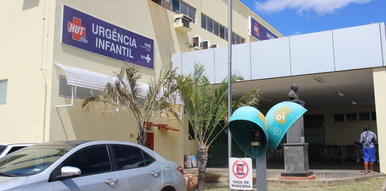 JAICÓS   Criança ferida a caminho da escola é transferida para UTI pediátrica do HUT