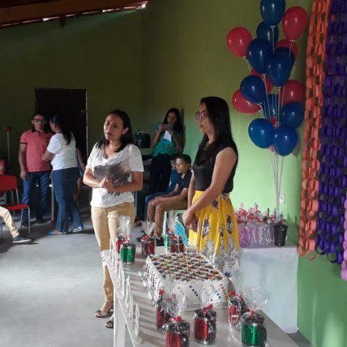 Assistência Social de Vera Mendes promove evento comemorativo para aniversariantes do SCFV