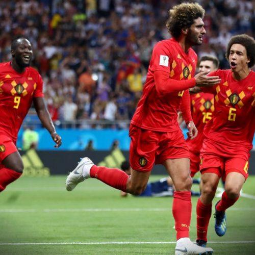 Bélgica derrota Japão e vai encarar o Brasil nas quartas de final